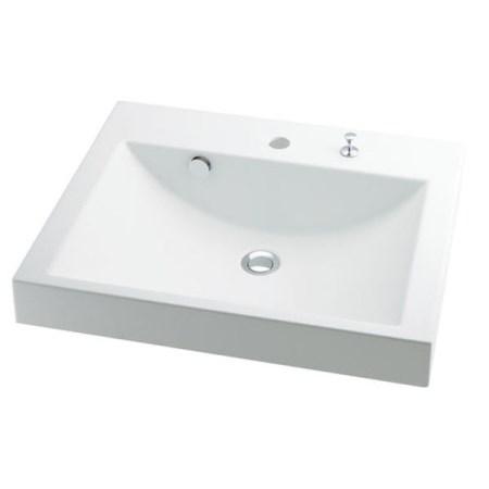 カクダイ 角型洗面器 493-072H【カクダイ KAKUDAI 493-072H 水道用品 洗面用部品 洗面器・手洗器】 水道用品メーカー「カクダイ」の洗面台です。低い