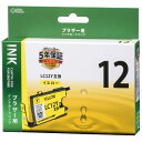 ブラザー互換インク 12 Y【オ−ム電機 INK-B12B-Y OA用品 インク・用紙 汎用インク 】