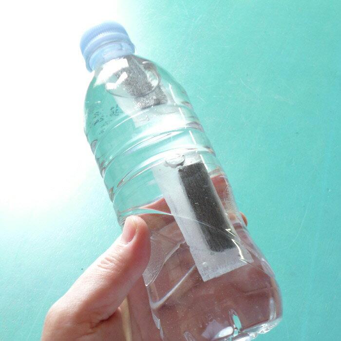 お試し フィルター入りペットボトル用 竹炭プチサイズ (3片×1袋) 【メール便】郵便受けへのお届け【RCP】05P03Dec16