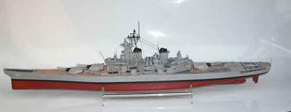 TJM 1/200 米国戦艦ニュージャージー New Jersy BB-62組立キット