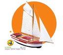 """Soclaine バージ帆船 &quotLe Cotier"""" CT12"""