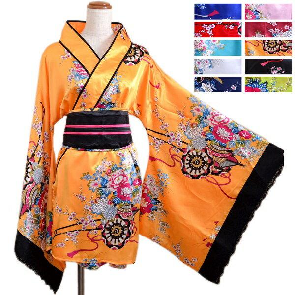 送料無料 あす楽 よさこい 衣装 和柄 ドレス ...の商品画像