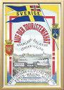 【絵画】ScandinavianArtスウェーデン鉄道の旅1900年初頭/額入りアートフレーム壁掛け飾るリビングインテリア北欧プレゼントギフトポスター3Lサイズ
