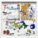 ショッピング掛け時計 【時計 壁掛け】アーティストクロック デビッド セバン/掛け時計 置き時計 ウォールクロック インテリア 壁掛け 時刻 ギフト プレゼント 新築祝い おしゃれ かわいい アート【M】
