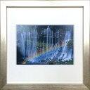 【アートフレーム】【ゆうパケット】パワースポットアート 白糸の滝/インテリア 壁掛け 額入り 油絵