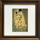 名画アートフレーム ゆうパケット クリムト 接吻(Klimt )/額入り 絵画 絵 壁掛け アート リビング 玄関 トイレ インテリア かわいい 壁飾り 癒やし プレゼント ギフト アートパネル ポスター アートフレーム おしゃれ Sサイズ