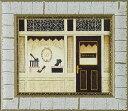 ショッピングシューズ 【絵画】エミリー アダムス ラ ディーバ シューズ/インテリア 壁掛け 額入り 油絵 ポスター アート アートパネル リビング 玄関 プレゼント モダン アートフレーム おしゃれ【M】