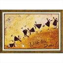 絵画 サム トフト「見て!ドリス!」/額入り 額装込 風景画絵画・壁掛けアートは、リビングや玄関におすすめのインテリア。かわいい壁..