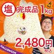 【塩味】ハロウィン ポップコーン 1kg びっくりサイズ![業務用 完成品 ポップコーン お菓子 詰め合わせ サプライズ 大容量 大量購入 イベント 個包装袋付]