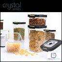 vacuumsaver 保存容器 crystal スターターセット(3個+専用ポンプセット)/CRS2A03-01P3【楽ギフ_包装】【HLS_DU】