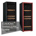 EUROCAVE ユーロカーブ ユーロカーブ プルミエシリーズ Premiere-L-T-PTHF(黒/赤) ガラスドア/213本収容 法人様限定