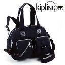 キプリング バッグ KIPLING 13636-900 Basic DEFEA 2WAYバッグブラック ハンドバッグ ショルダーバッグ メンズ レディース【送料無料】