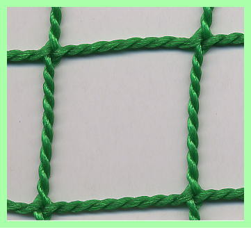 60 Book baseball for anti-ball NET 37.5 mm eye NET (green) knotless NET.