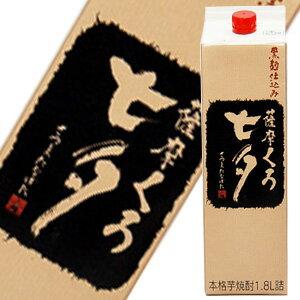 黒七夕パック 芋焼酎 1.8L