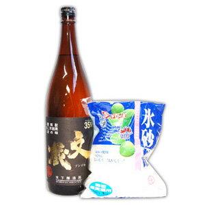 梅酒用2点セット 35度 文蔵<常圧>1.8L/氷砂糖の商品画像