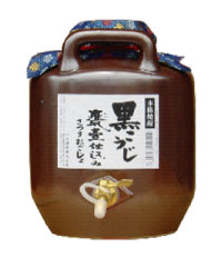送料無料♪25度 さつまおごじょ 5升壷 (コック付)  【芋】