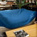 French military blanket Blue(フレンチミリタリーブランケット ブルー)USED(ユーズド品) デザインインテリア