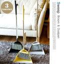 スウィープ(Sweep) ホーキ&チリトリ(Broom and dustpan) ほうき・ちりとり テラモト(TERAMOTO) ティディー(tidy) カラー...