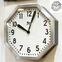 Lowis Industry Octagon Clock(ルイスインダストリーオクタゴンクロック)掛け時計 デザインインテリア