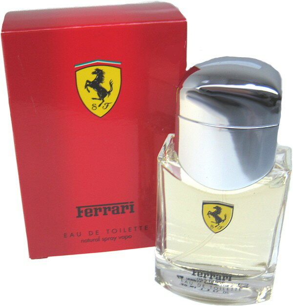 75 ml of Ferrari red EDT eau de toilette perfume men for spray