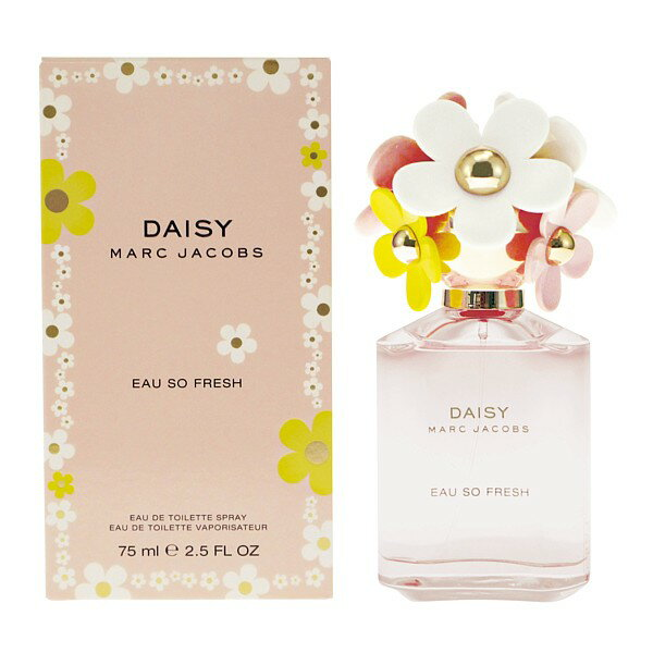 Daisy Eau so fresh 75 ml Eau de Toilette Spray for perfume ladies