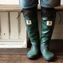 日本野鳥の会 バードウォッチング 長靴 (グリーン) レインブーツ【折りたたみ】【パッカブル】|雨靴|雪|野外ライブ|アウトドア|キャンプ|農作業|田んぼ|釣り|ブーツ|【送料無料】【レインブーツ】【レディース】【メンズ】
