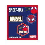 Marvel(マーベル) POP ICON Spider Man (スパイダーマン) ピンバッジセット [インロック]