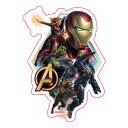 Marvel(マーベル) Avengers: Endgame(アベンジャーズ/エンドゲーム) ダイカットステッカー A [インロック]