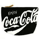 Coca-Cola/コカ・コーラ Coke さがらポーチ Black