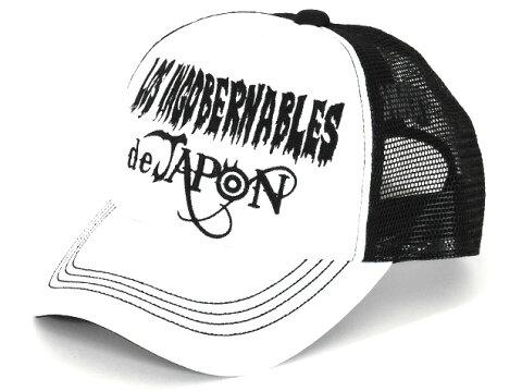 新日本プロレス/NJPW 内藤哲也 ロス・インゴベルナブレス・デ・ハポン キャップ(ホワイト×ブラック)