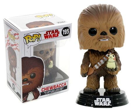 Star Wars: The Last Jedi(スター・ウォーズ/最後のジェダイ) チューバッカFUNKO/ファンコ POP VINYL ミニボブルヘッド