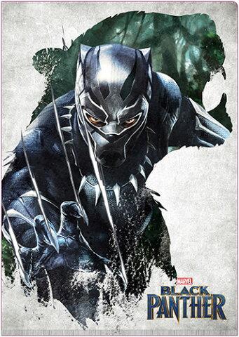 Marvel(マーベル) Black Panther(ブラックパンサー) Wポケットクリアファイル [インロック]