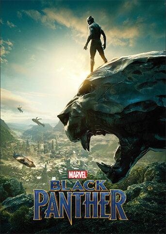 Marvel(マーベル) Black Panther(ブラックパンサー) パタパタメモ [インロック]