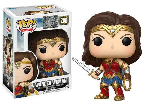 Justice League(ジャスティス・リーグ) Wonder Woman(ワンダー・ウーマン) FUNKO/ファンコ POP! VINYL ミニフィギュア