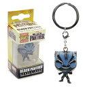Marvel(マーベル) Black Panther(ブラックパンサー) Glow FUNKO/ファンコ POCKET POP ボブルヘッド キーチェーン