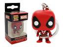 Marvel(マーベル) Deadpool(デッドプール) FUNKO/ファンコ POCKET POP! ボブルヘッド・キーチェーン