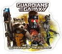 Guardians of the Galaxy (ガーディアンズ・オブ・ギャラクシー) ダイカットステッカー(A) 【あす楽対応】【あす楽_土曜営業】【あす楽_日曜営業】【楽ギフ_包装】