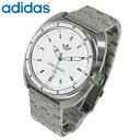 送料無料 アディダス/adidas スタンスミス STAN SMITH メンズ 腕時計 ADH3007 ホワイトシルバー 海外モデル