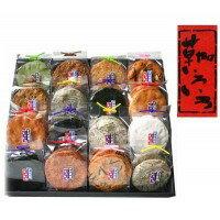 送料別 代引き・同梱不可 【取り寄せ】 草加せんべい 草加いろいろ(16マス)×2箱