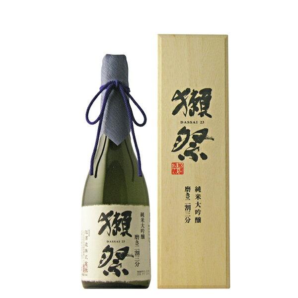 獺祭〔だっさい〕 磨き二割三分 純米大吟醸 720ml 専用木箱入り 【日本酒/山口県/旭酒造】