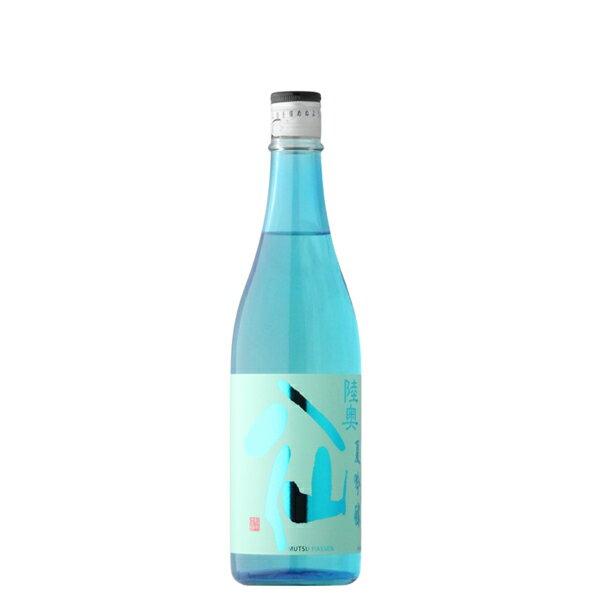 陸奥八仙 夏吟醸 720ml 【日本酒/青森県/八戸酒造】【冷蔵推奨】
