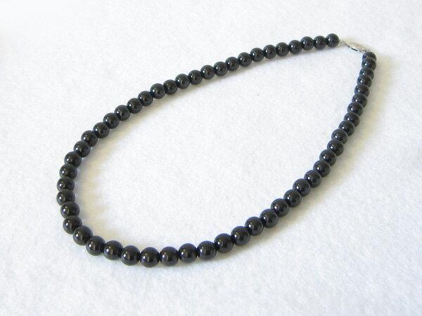 北投石(黒)ネックレス【天然石】【首飾り】【送料無料】 北投石のネックレス