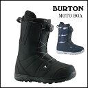 【送料無料】19 スノーボード ブーツ 【バートン】BURTON MOTO boots- Black Midnightblue モト ボア 日本正規品
