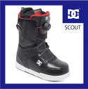 17 スノーボード ブーツ 【ディーシー】DC SCOUT- BLK