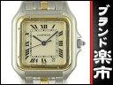 【ファッション・ザ・バーゲン期間中ポイント2倍&】 カルティエ Cartier パンテールMM 1ロウ レディース クォーツ QZ 腕時計 ウォッチ