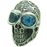 グラフィティースカルストーン シルバーリング(指輪)(Ld.99)*BWL(ビルウォールレザー)Master Skull ■BILL WALL LEATHER/ビルウォールレザー正規取扱店