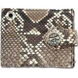 ナチュラルパイソンビルフォールドウォレット(財布)*BWL/Bill Wall Leather(ビルウォールレザー)【、決済手数料無料】