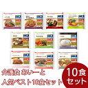【冷凍介護食】摂食回復支援食あいーと 人気ベスト10セット(10個入)/介護食 区分3