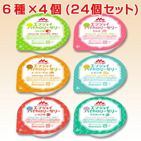 介護食 高カロリー エンジョイ小さなハイカロリーゼリー いろいろセット(6種各4個) 40g×24個