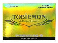 TOBIEMONトビエモン 公認球 ゴルフボール PREMIUM-3 プロ使用3ピースボールの画像